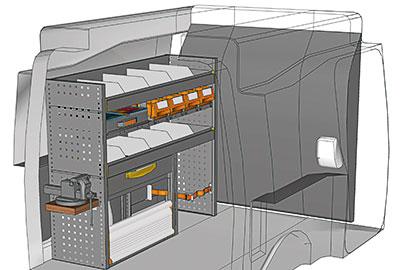 Fahrzeugeinrichtungen für Partner PA 1210 07