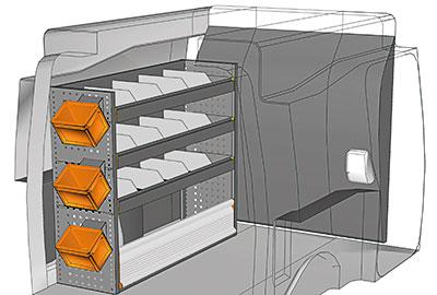 Fahrzeugeinrichtungen für Partner PA 1210 09