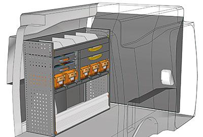 Fahrzeugeinrichtungen für Partner PA 1210 10