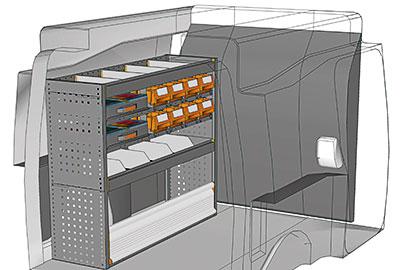Fahrzeugeinrichtungen für Partner PA 1210 11