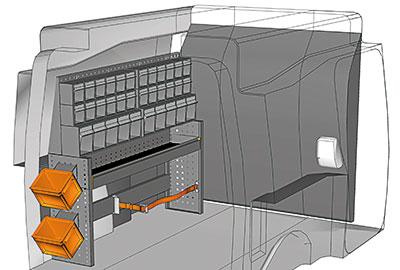 Fahrzeugeinrichtungen für Partner PA 1211 05
