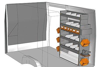 Fahrzeugeinrichtungen für Crafter SP-1015-01