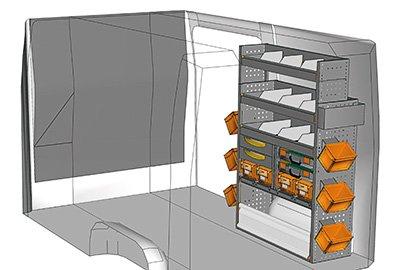 Fahrzeugeinrichtungen für Crafter SP-1015-02