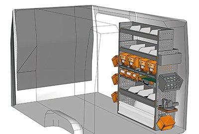 Fahrzeugeinrichtungen für Crafter SP-1015-03
