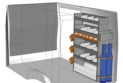 Fahrzeugeinrichtungen für Crafter SP-1015-04