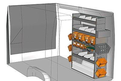 Fahrzeugeinrichtungen für Crafter SP-1015-05