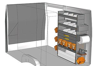 Fahrzeugeinrichtungen für Crafter SP-1015-09