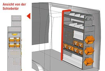 Fahrzeugeinrichtungen für Crafter SP-1015-12