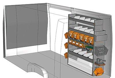 Fahrzeugeinrichtungen für Sprinter SP 1215-03
