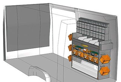 Fahrzeugeinrichtungen für Sprinter SP 1215-07