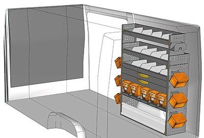 Fahrzeugeinrichtungen für Sprinter SP 1215-08