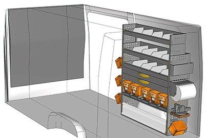 Fahrzeugeinrichtungen für Sprinter SP 1215-09
