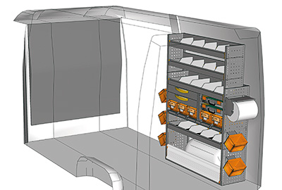 Fahrzeugeinrichtungen für Sprinter SP 1217-02