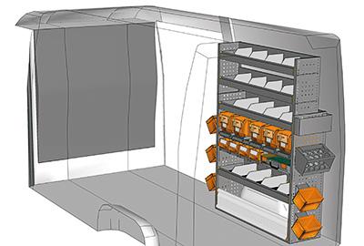 Fahrzeugeinrichtungen für Sprinter SP 1217-05