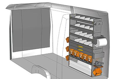 Fahrzeugeinrichtungen für Sprinter SP 1217-09