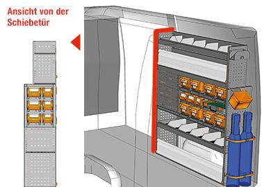 Fahrzeugeinrichtungen für Sprinter SP 1517-01