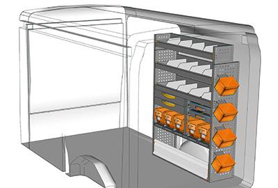 Fahrzeugeinrichtungen für Transit TR 1216 01