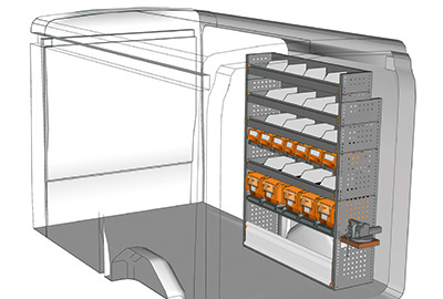 Fahrzeugeinrichtungen für Transit TR 1216 04