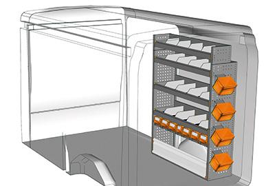 Fahrzeugeinrichtungen für Transit TR 1216 05