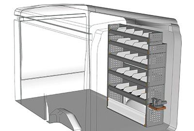 Fahrzeugeinrichtungen für Transit TR 1216 07