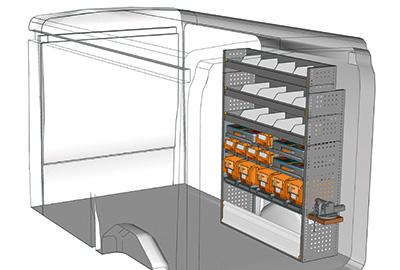 Fahrzeugeinrichtungen für Transit TR 1216 08