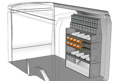 Fahrzeugeinrichtungen für Transit TR 1216 09