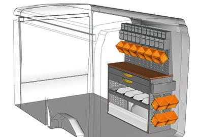 Fahrzeugeinrichtungen für Transit TR 1216 10
