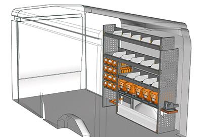 Fahrzeugeinrichtungen für Transit TR 1716 04
