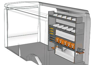 Fahrzeugeinrichtungen für Transit TR 1716 05