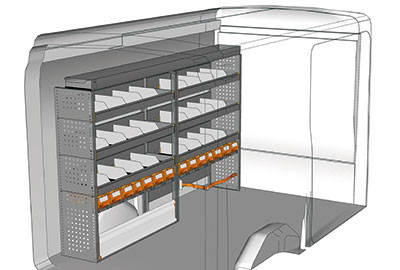 Fahrzeugeinrichtungen für Transit TR 2415 02