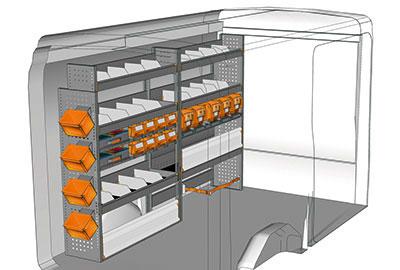 Fahrzeugeinrichtungen für Transit TR 2416 02
