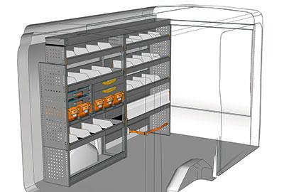 Fahrzeugeinrichtungen für Transit TR 2417 01