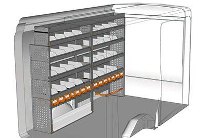 Fahrzeugeinrichtungen für Transit TR 2417 02