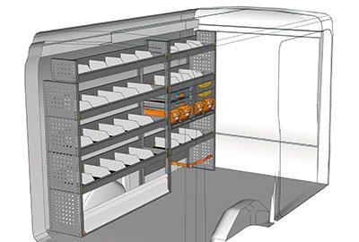 Fahrzeugeinrichtungen für Transit TR 2516 02