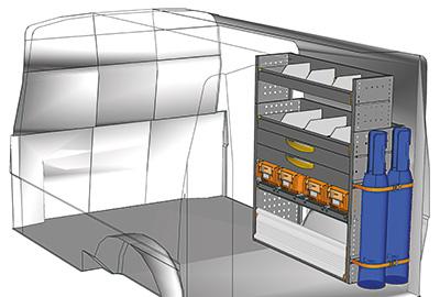 Fahrzeugeinrichtungen für Transporter TS-1012-13