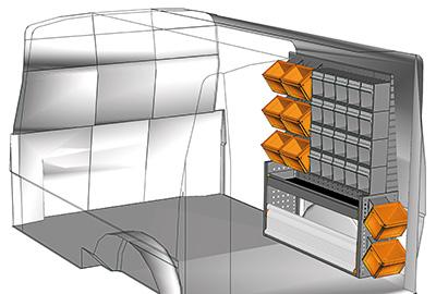 Fahrzeugeinrichtungen für Transporter TS-1012-15