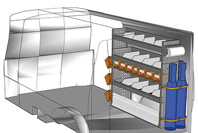 Fahrzeugeinrichtungen für Transporter TS-1212-02