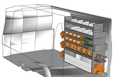 Fahrzeugeinrichtungen für Transporter TS-1212-03