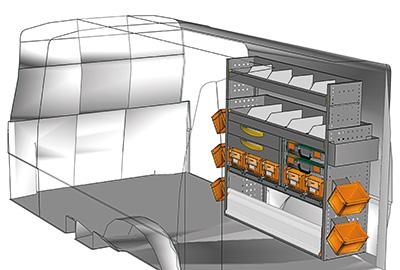 Fahrzeugeinrichtungen für Transporter TS-1212-04