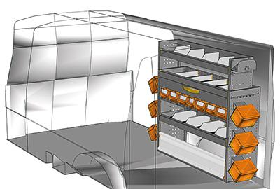 Fahrzeugeinrichtungen für Transporter TS-1212-09