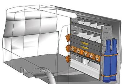 Fahrzeugeinrichtungen für Transporter TS-1212-10