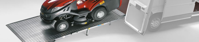 Van loading Ramps - Van equipment