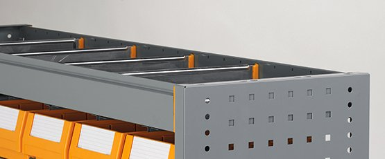 STORAGE TOP trays with aluminium dividers