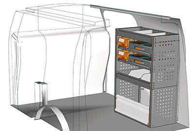 Example van equipment Connect CN 0710 01