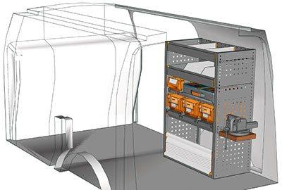 Example van equipment Connect CN 0710 08