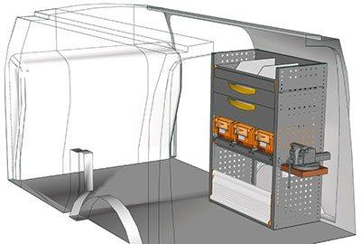 Example van equipment Connect CN 0710 09