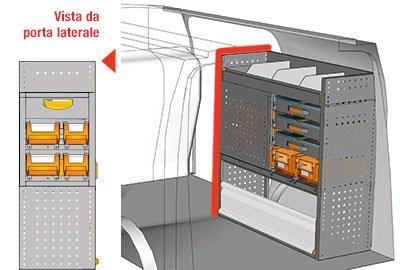 Example van equipment Connect CN 1010 02