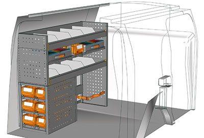 Example van equipment Connect CN 1210 04