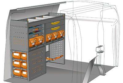 Example van equipment Connect CN 1210 05