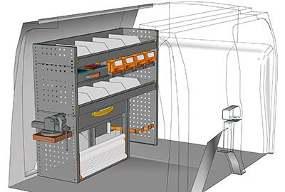 Example van equipment Connect CN 1210 07